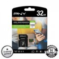 PNY Performance 32GB micro SDHC+SD ADAPTER CLASS 10 UHS-I 1 100MB/s