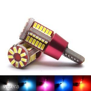 T10 szuper fényes 4014 SMD LED - Műszerfal és helyzetjelző világításhoz - rózsaszín fényű - KÉSZL...