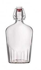119076 Lapos csatos üveg 0,25 liter