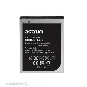 Astrum AHTD310 HTC Desire 310 kompatibilis akkumulátor Li-Ion 2000mAh