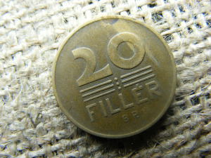 20 fillér 1947 , verdehibás , lapkahiba