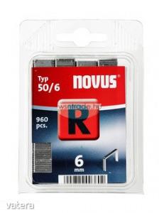 Novus tűzőkapcsok, lapos R 50 6 mm 960 db - Vatera.hu Kép