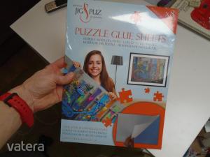 ÚJ! öntapadós puzzle ragasztólapok A4-es méretben (8db, méretük 21x29,7cm, akár 1000db-oshoz) SZSZ1