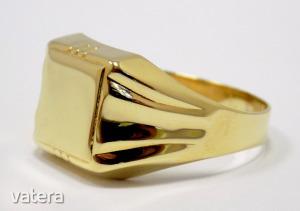 Modern arany gyűrű (ZAL-Au 93342)