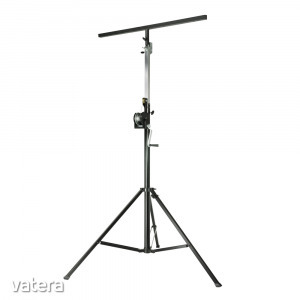WorldMix - Stands SWU 400 T Kurblis Fényállvány/Hangfal állvány T-Bar Fekete