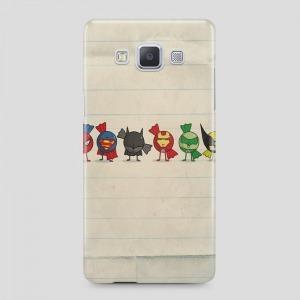 szuperhős mintás Samsung Galaxy A3 (2015) tok