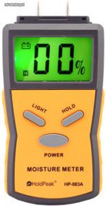 HoldPeak 883A univerzális digitális nedvességmérő