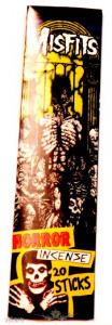 MISFITS - HORROR. Incense. Füstölő