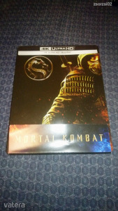 Mortal Kombat (2021) uhd+bd steelbook