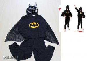 3 részes Batman jelmez 6-7 évesre - ÚJ