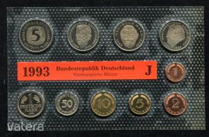 1993 J  Németország  nylon tokos forgalmi sor  BG31