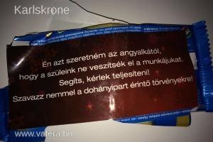 Orbán Viktor csokipapírja - Aukció - Vatera.hu Kép
