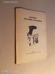 Ofotért árverési katalógus (1983) (*KYP)