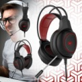 HAVIT Gamer 3,5 mm-es audió jack + USB Fejhallgató HV-H2239D