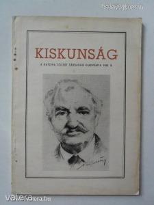 Kiskunság / A Katona József Társaság kiadványa - 1955 / II. (*57)