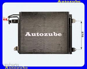 SKODA  OCTAVIA  2  2004.06-2008.12  /1Z/  Klímahűtő    minden  motorhoz    (550x390x16)