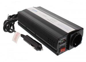 Well feszültség átalakító inverter 300 W 12V/230V + USB (CA-INV300)