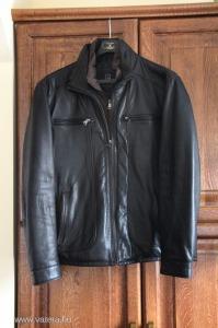 Pierre Cardin férfi minőségi bőrkabát/dzseki   56-os