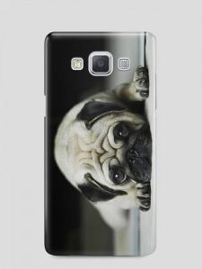 Mopsz kutya  Samsung Galaxy A3 (2015) tok hátlap