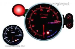 DEPO PK series gauge 115mm fordulatszám mérő 8000 Dízel