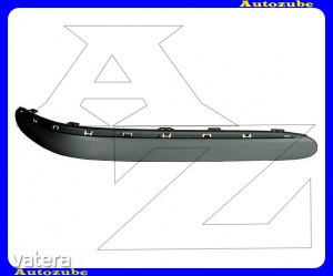 MERCEDES  S  W220  1998.10-2002.08  Első  lökhárító  díszléc  jobb  (krómdíszléc  hellyel) - 6568 Ft Kép