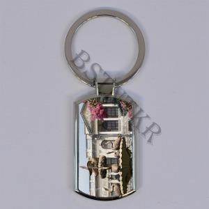 Isztambul mintás elegáns fém kulcstartó - 2580 Ft Kép