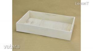 Dekorláda, dekordoboz  fehér      30cmx20cmx5cm