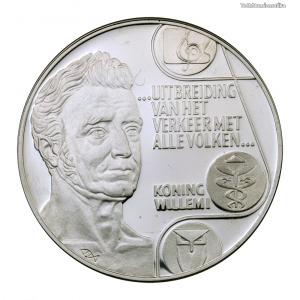 Hollandia 25 ECU 1992 PP I. Vilmos király