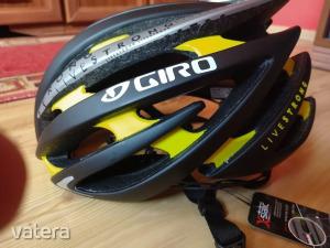 Giro Italia Livestrong Lance Armstrong kerékpár sisak bicikli bukósisak M fejvédő
