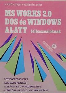 MS Works 2.0 DOS és WINDOWS alatt felhasználóknak