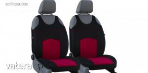 Univerzális trikó üléshuzat pár Tuning 100% velúr gesztenyebarna fekete színben