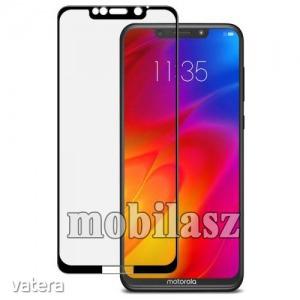 Motorola One Power (P30 Note), Imak vegfólia, 9H, A teljes képernyőt védi, Fekete