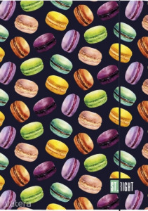 St.Right - Macarons A4 gumis mappa (005183)