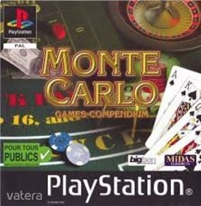 PS1  Játék Monte Carlo - Games Compendium