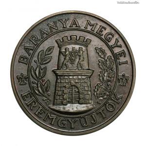 MÉE Baranyai Éremgyűjtők Eligiusz emlékérem 1987