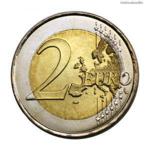 Franciaország 2 Euro 2008 EU Elnökség