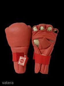 Piros kesztyű küzdősportokhoz, L-es méret - Budo Sport Junior