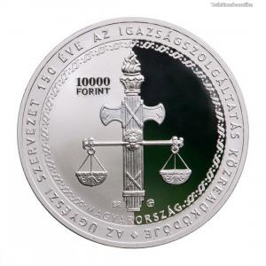 150 éves Ügyészi Szervezet 10000 Forint 2021 PP