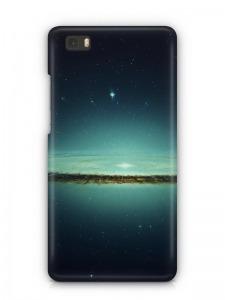 világűr mintás Huawei P8 tok hátlap