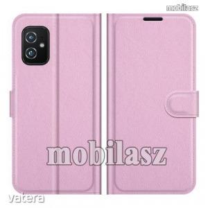 ASUS Zenfone 8 (ZS590KS), WALLET notesz mobiltok, Rózsaszín