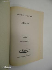 L.imi (szerk.): Kedvenc receptjeim grillen (*94)