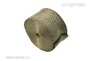 Kipufogó hővédő bandázs DEI Cool-Tape 50mm x 7,5m titán