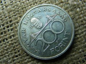 Ezüst 200 forint 1992