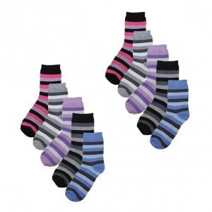 10 pár női csíkos mintás zokni 75f7f50133