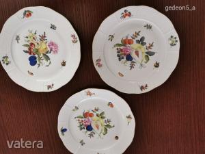 Herendi lapos tányér, BFR (meghosszabbítva: 2996567771) - Vatera.hu Kép