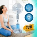 Vízpermet álló ventilátor