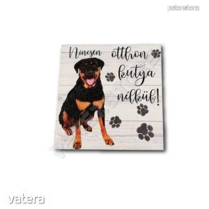 Fa tábla - Kutya Rottweiler