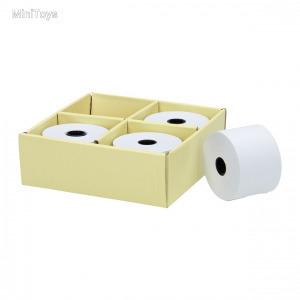 Fából készült pénztárgéphez papír