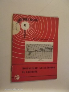 Zsabotinszkij: Molekuláris generátorok és erősítők (*811)