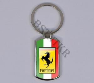 Ferrari mintás elegáns fém kulcstartó - 2580 Ft Kép
